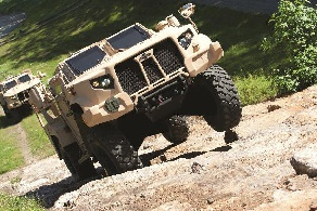 Oshkosh Tactical Vehicle New Humvee