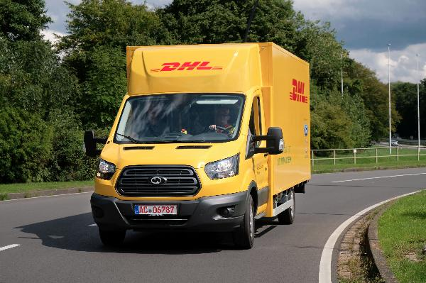 Ford и DHL выпустили грузовой фургон StreetScooter Work XL